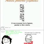 Vous savez lire le japonais??