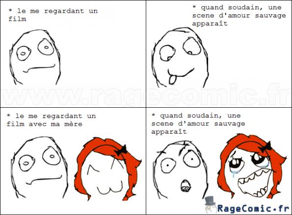 Scene d'amour