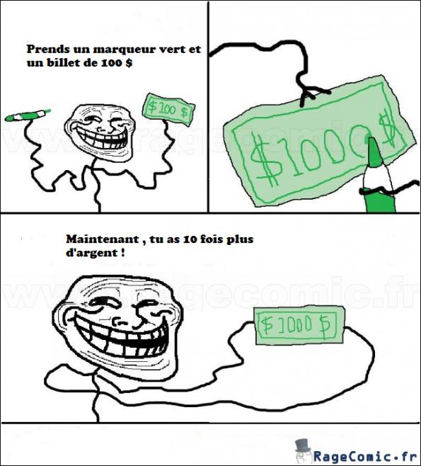 10x plus d'argent