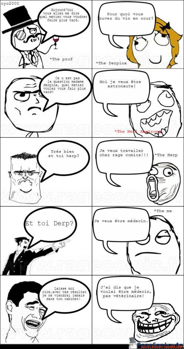 Troller son prof