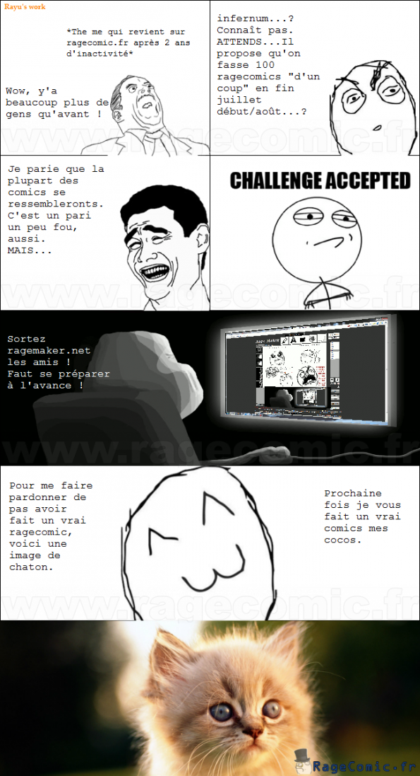 100 Comics ? Challenge Accepted. - Challenge accepted ...