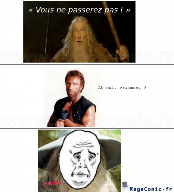 Pauvre Gandalf