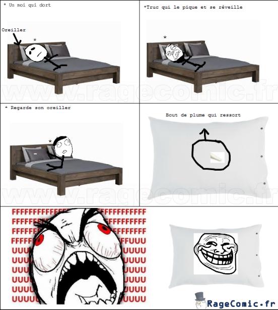 Plume d'oreiller