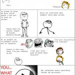 Trollé par ses amis et devant les filles