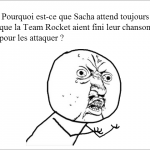 Sacha et la Team Rocket