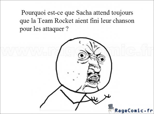 Sacha et la Team Rocket