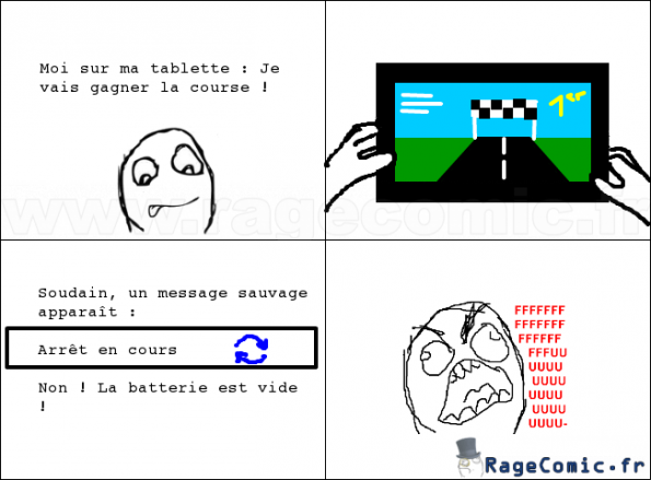 batterie vide rage guy fffffuuuuuuuu rage comics francais troll face. Black Bedroom Furniture Sets. Home Design Ideas