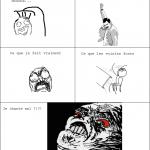 La rage de la douche