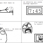 réveil trolleur