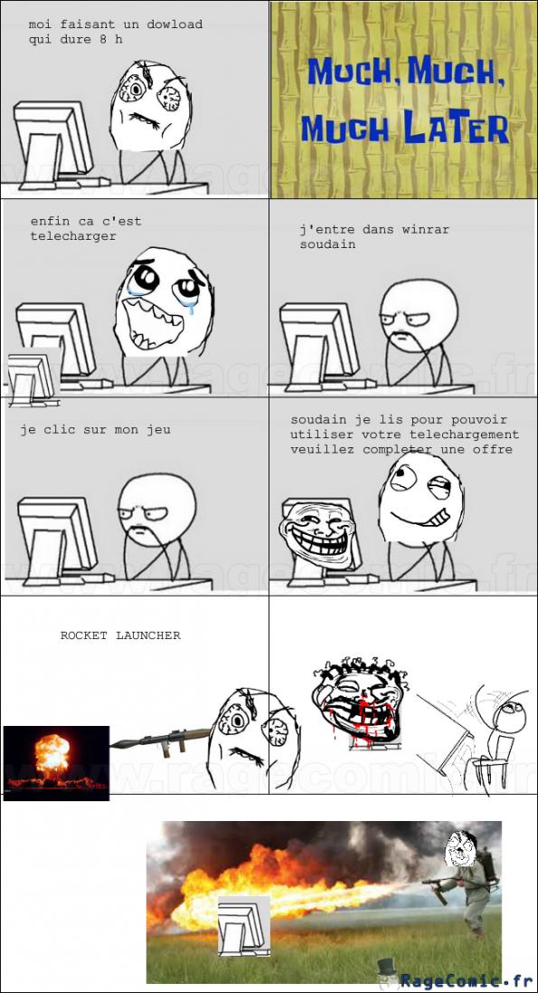 le download qui troll