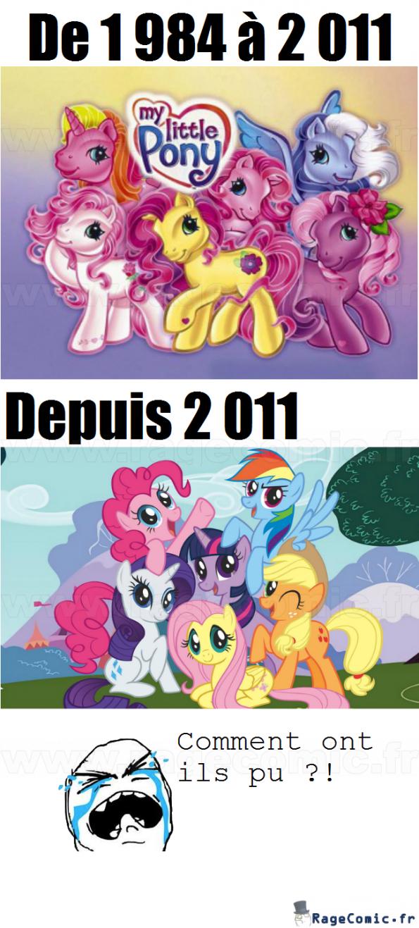 Les poneys ne sont plus du tout ce qu'ils étaient !