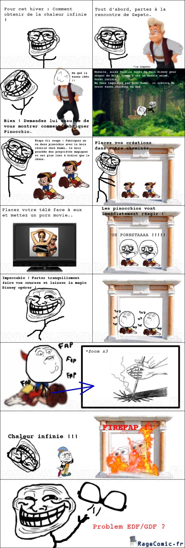 Troll Physics Pinocchio