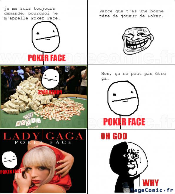 Pourquoi Poker Face