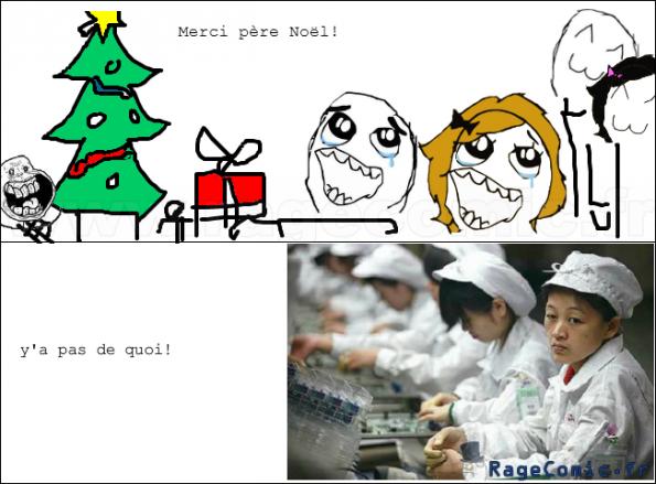 pas de Noël pour les chinois