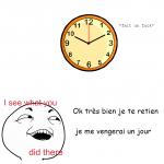 l'horloge trolleur