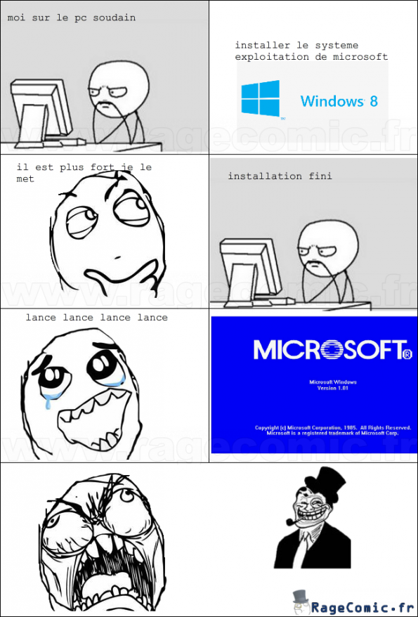 le troll de windows