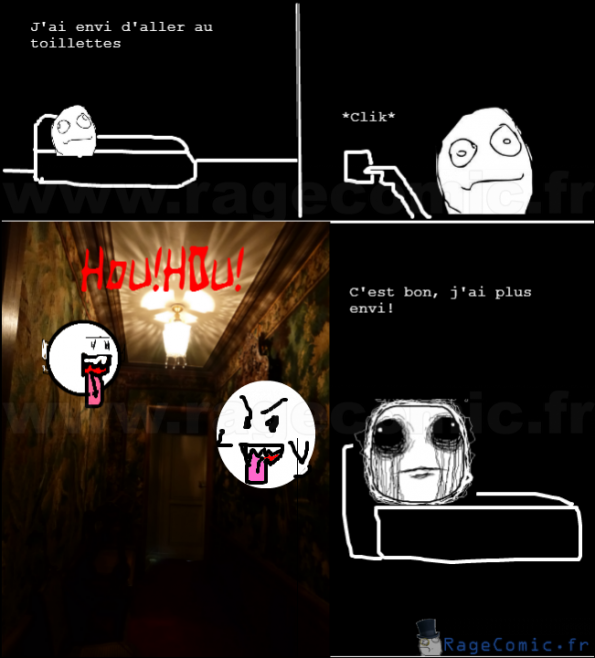 Fantômes dans le couloir