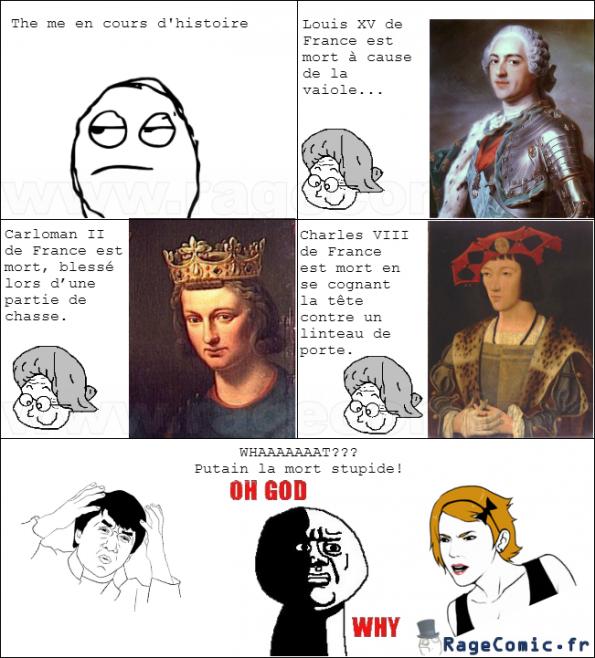 La mort des rois de France