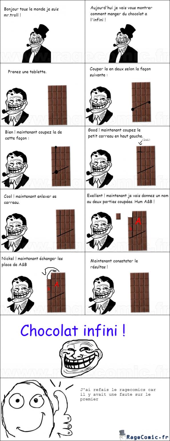 Chocolat infini