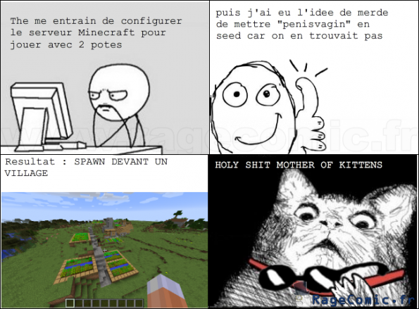 Minecraft : Fuck la logique