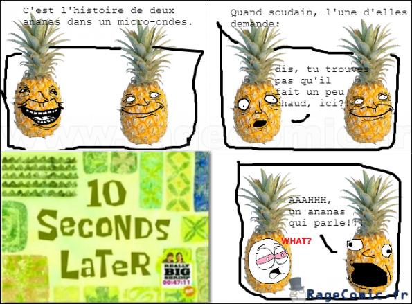 ananas qui parle