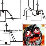 au toilettes
