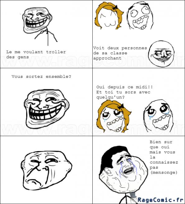 Trolling failed