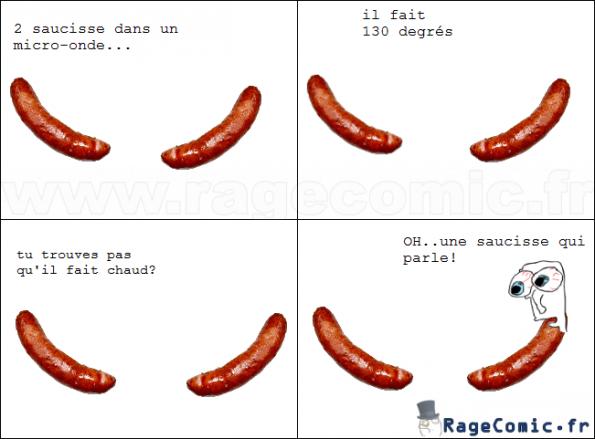 Histoire de saucisses