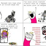 l'explosion du lego