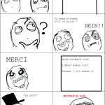 Le cours d'anglais