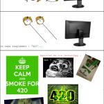 Une histoire de 420...