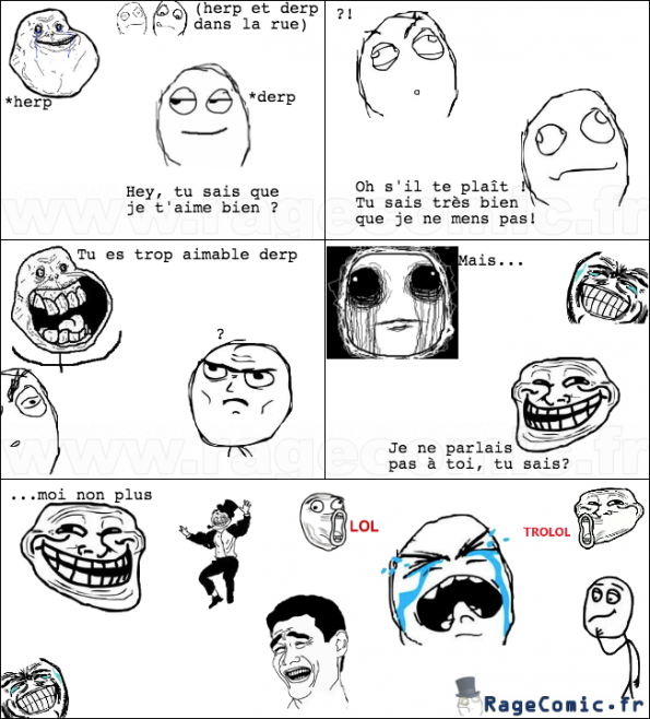 Forever alone VS troll