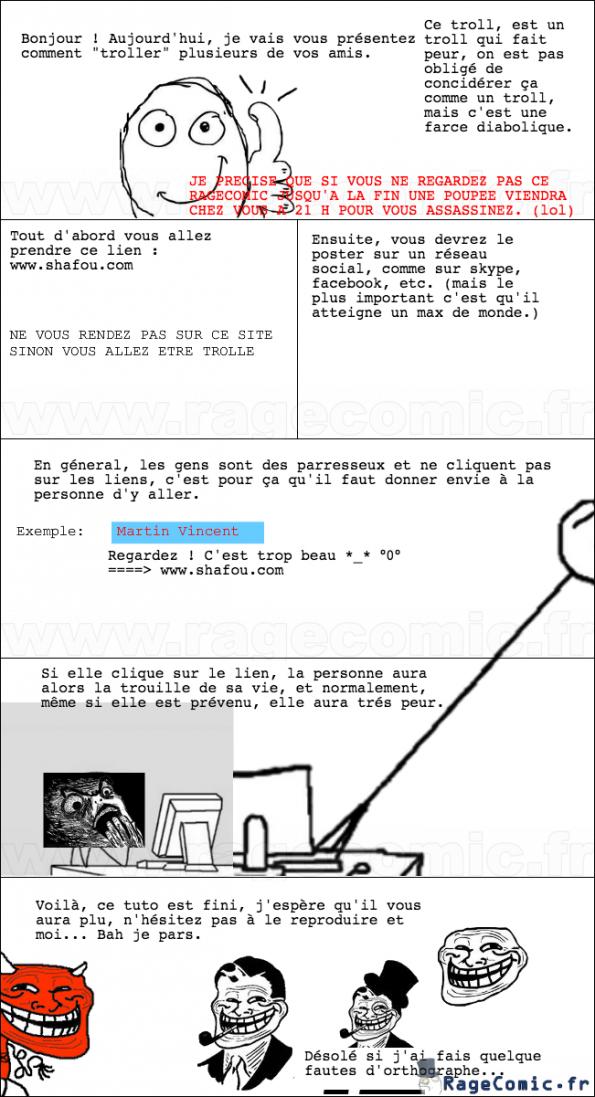 Tuto : réaliser un troll