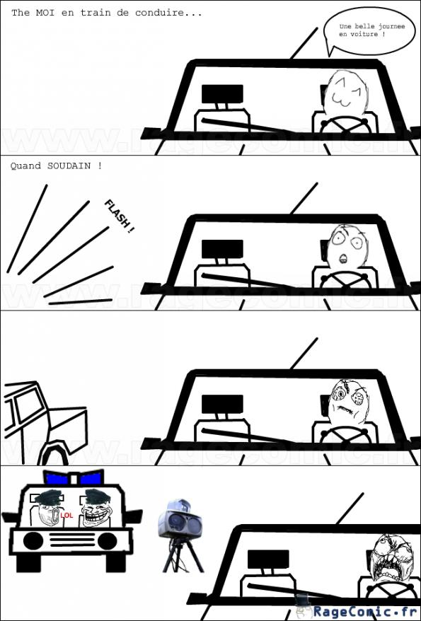 Une belle journée en voiture
