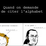 Alphabet du geek