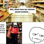 Les noms des bouteilles de Coca-Cola