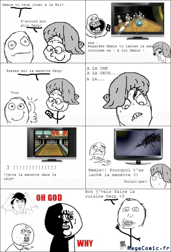 Mamie et la Wii