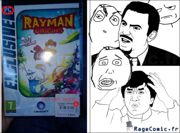 Rayman sur pc