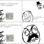 Un journal s'il vous plait!