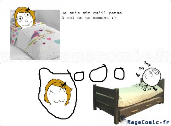 Les garçons pense aux filles