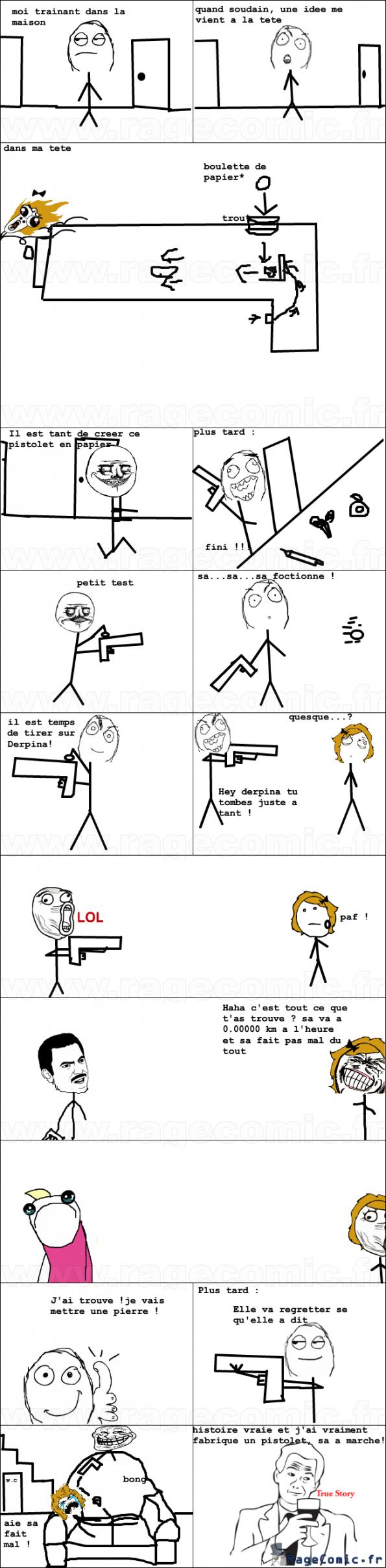 Le pistolet