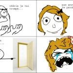 a la porte