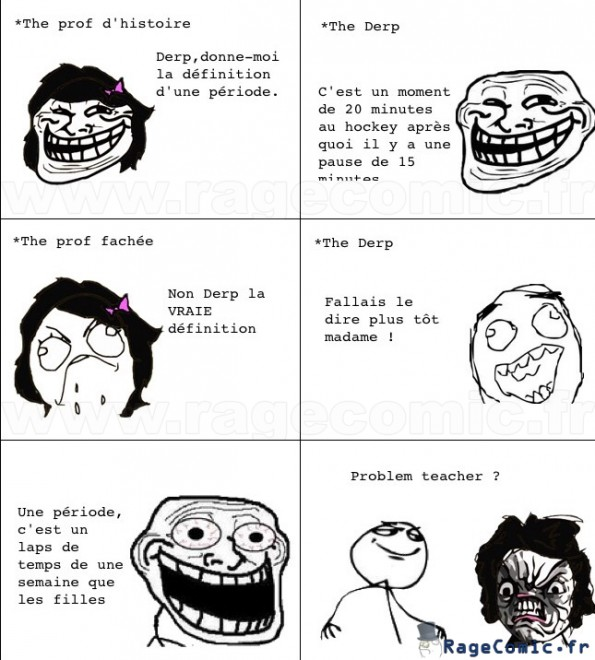 The troll en classe