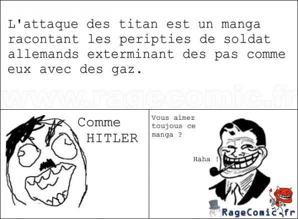 L'attaque des titans=nazi