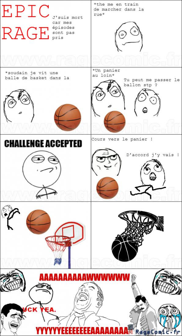 Basket:Challenge Accepted !