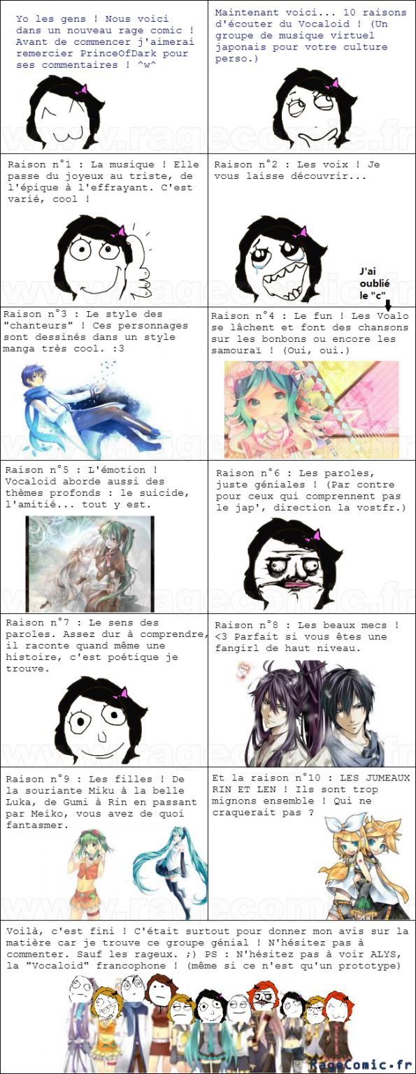 Vocaloid le retour du mérou (heu, non, aucun rapport)