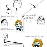 Une histoire de brulûre