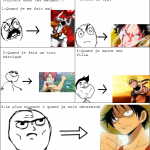 Je me crois toujours dans les mangas