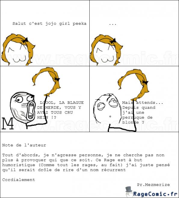 La blague trop pas drôle