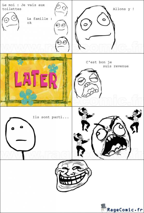 Quand je vais aux toilettes